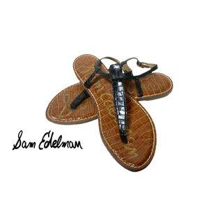 Sam Edelman GiGi Leather Ankle Strap Sandals